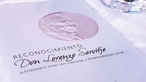 """Reconocimiento Don Lorenzo Servitje"